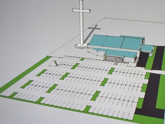 Texas-sized! America's largest cross to be built