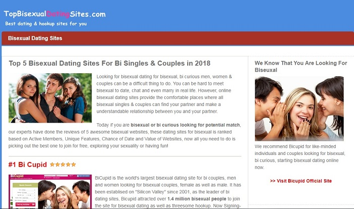 Topbisexualdatingsites.com help bisexual singles and couples meet bisexuals nearby