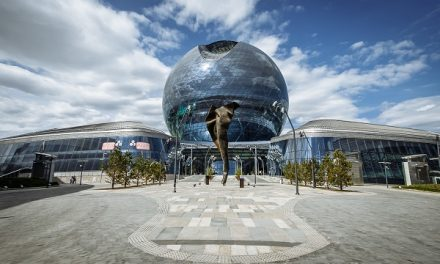 Evolution of the Astana EXPO-2017